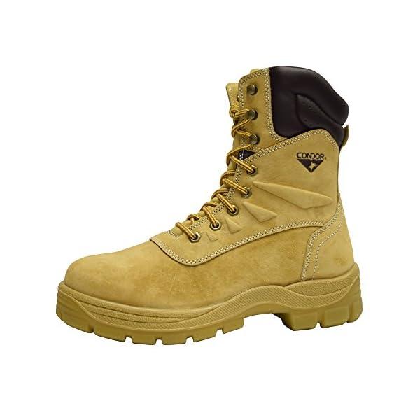 "Condor Dakota Men's 8"" Steel Toe Work Boot 1"