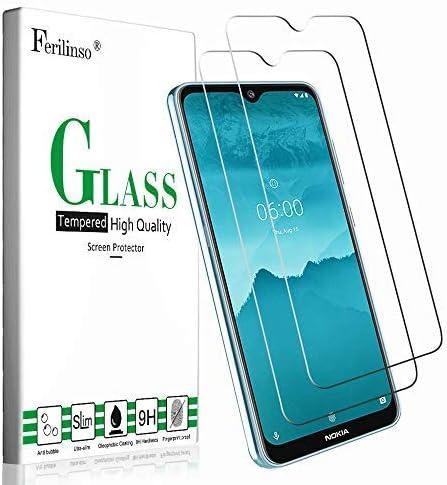 Ferilinso Cristal Templado para Nokia 7.2 /Nokia 6.2,[2 Pack ...