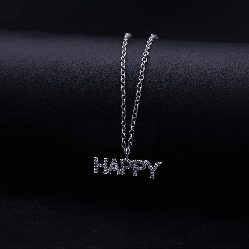 Hip Hop Bubble Necklace Custom CZ Tennis Letters Pendant Personalized Name Necklace Iced Out Hip Hop Necklaces for Men Women