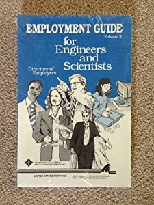 Paperback Employment Guide for Engineers and Scientists Book