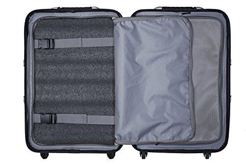 VinGardeValise Wine Travel Suitcase (12 Bottle) Newest Model (One Size, Silver) by Vin Garde Valise (Image #6)'
