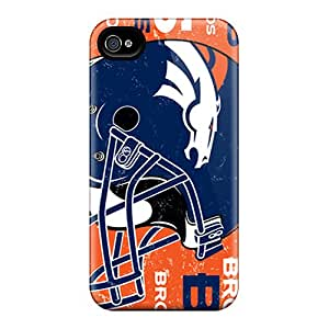 Hard Protect Phone Case For Iphone 6plus (HwC6801nRba) Support Personal Customs HD Denver Broncos Series