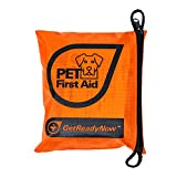 GETREADYNOW Pups & Peeps Essential Pet First Aid Kit - Emergency Survival Kit + Deluxe Supplies to Rescue Pets and Keep Your Four-Legged Friend Safe on The Road + Dog Camping Gear, Emergency Supplies