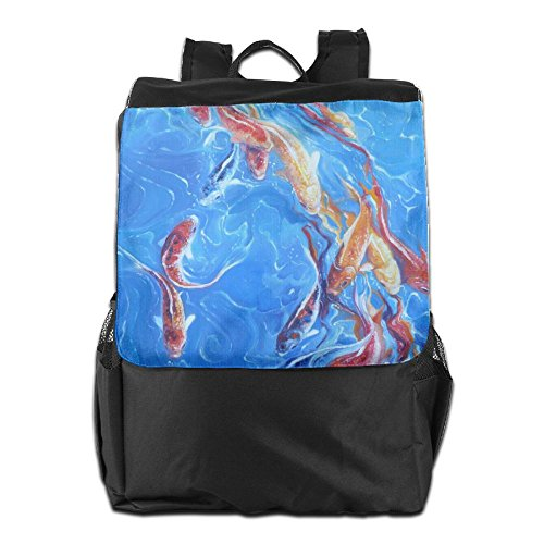 Personalized Strap Men School Adjustable Storage Painting For Outdoors Shoulder Oil Women Backpack HSVCUY And Travel Dayback Camping FXxvwdqqa