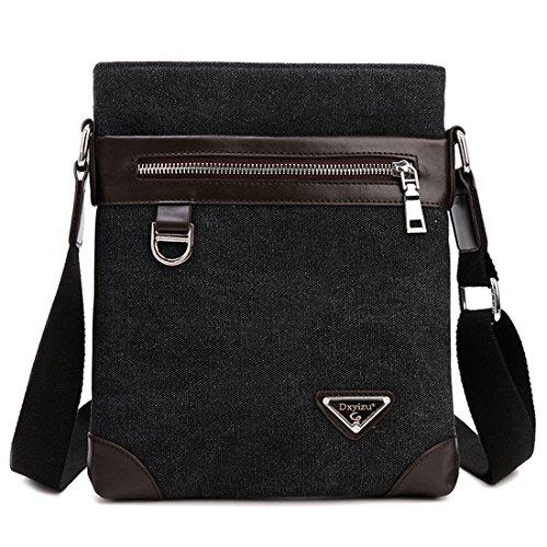 hombro hombre Canvas Azul Bolso Messenger para HT Bags al Zx4XXB