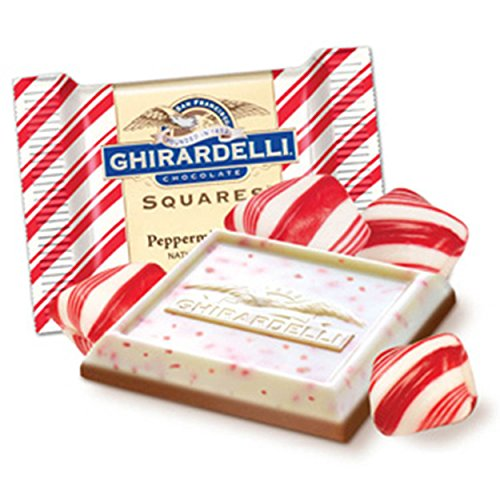 Ghirardelli Peppermint Chocolate Piece pounds