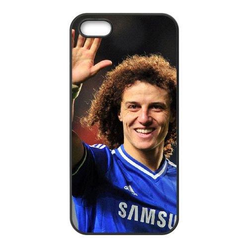 David Luiz 002 coque iPhone 4 4S cellulaire cas coque de téléphone cas téléphone cellulaire noir couvercle EEEXLKNBC24469