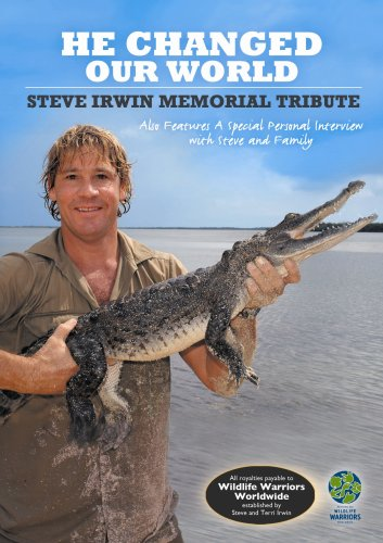 Price comparison product image He Changed Our World - Steve Irwin Memorial Tribute