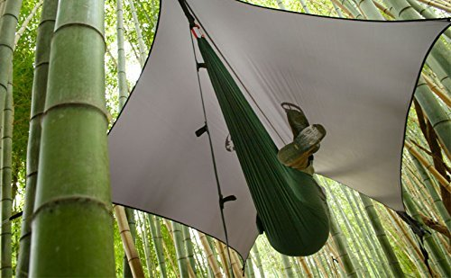 ENO Eagles Nest Outfitters - ProFly XL Sil Rain Tarp, Lichen by Eagles Nest Outfitters (Image #5)