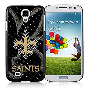 New Orleans Saints 02_Samsung Galaxy S4 I9500 Black Phone Case Cover_28048