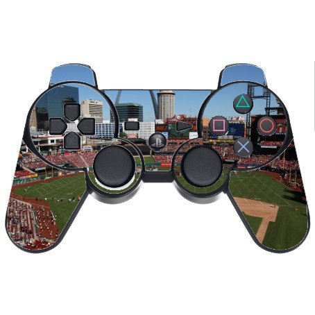 Baseball Stadiums PS3 Dual Shock wireless controller Vinyl Decal Sticker Skin by Compass Litho