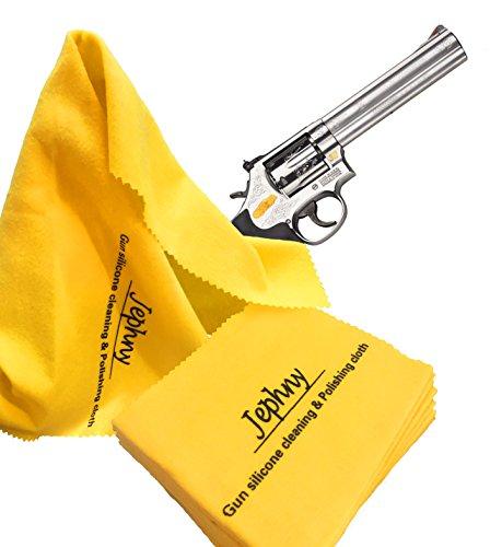 Jephny 168 Sq Inch Premium Gun Silicone Cleaning Polishing Cloth Size:12
