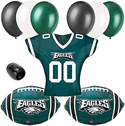 Amazon Com Mayflower Products Eagles Football Party Supplies And