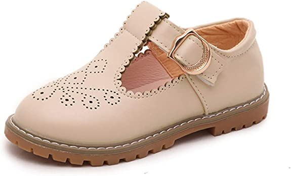 PPXID T-Bar pour petite fille Mary Janes Princess Oxford Chaussures