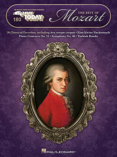 The Best of Mozart: E-Z Play Today Volume 180