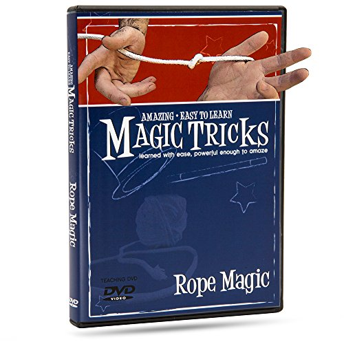 Magic Makers Magic Tricks You Can Master: Rope Magic - Magic Training DVD