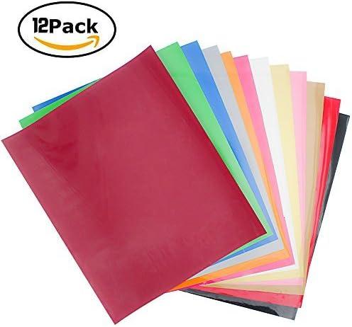 Okdeal 12 paquetes de vinilo de transferencia de calor ...