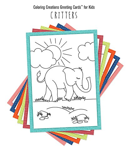 (Coloring Creations Greeting CardsTM for Kids - Critters: With Scripture)