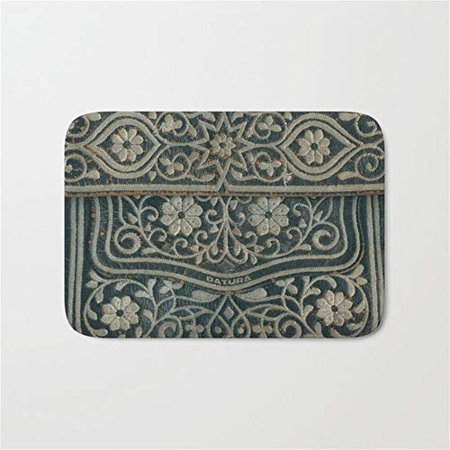 CoolMailboxicoveriw Embroidered Door Bath Mat 16 X 24 INCH ()