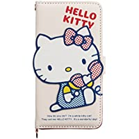 Hello Kitty notebook type iPhone 7 case (Hello) Sanrio store plush kawaii 2016 NEW Japan Import