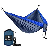 Comfortable & Lightweight • This hammock features breathable and lightweight yet high strength parachute nylon fabric, is comfortable to touch your skin and will not be hot under the sun. Durable & Safely Support Up To 400lbs • Made from stro...