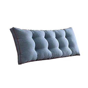 Amazon.com: CSQ almohada lavada, algodón cómodo suave ...