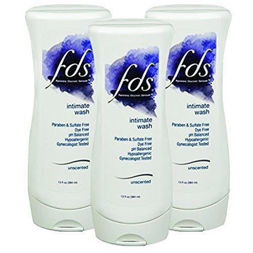 FDS Feminine Wash 13 fl oz Unscented Pack of 3