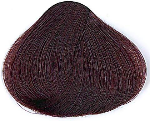 Tahe Tinte Natural Colour 10M Tinte Capilar Coloración de Cabello Profesional de Larga Duración de Color y Matiz, Bajo Contenido en Amoniaco, Nº 5.67 ...
