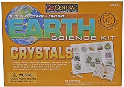 Earth Rock Science Kit GeoCentral Geology & Earth Sciences