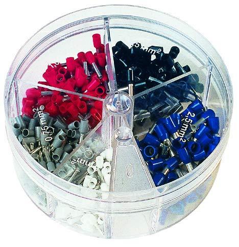 KP-FSD2 - Connector Kit, 400-Pcs of FSD76-8, FSD77-8, FSD78-8, FSD75-8 & FSD80-8 Insulated DIN Ferrules (KP-FSD2)