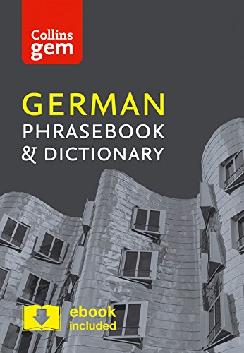 Collins Easy Learning German Phrasebook (Collins Gem)