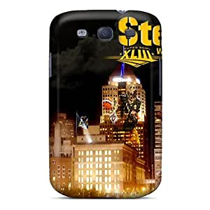 High Grade winvin Flexible Tpu Case For Galaxy S3 - Pittsburgh Steelers