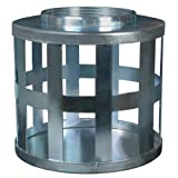 Apache 70009702 Square Hole Suction Strainers, Plated Steel, 2''
