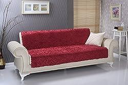 Chiara Rose Anti-Slip Armless Sofa Shield Futon Couch Pet Cover Furniture Protector Acacia