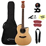 Ovation Applause Balladeer AB24-4, Natural, with Gig Bag and Accessory Pack