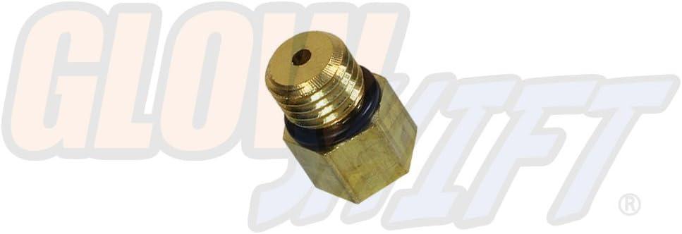 2003 chevy duramax fuel filter housing amazon com glowshift fuel pressure bleeder screw sensor thread  glowshift fuel pressure bleeder screw
