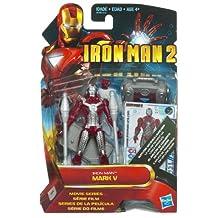 Marvel Iron Man 2 Movie Collection: Iron Man Mark V Suitcase Action Figure - 4 Inch