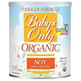 Baby's Only Organic Toddler Formula Powder, Soy 12.7 oz