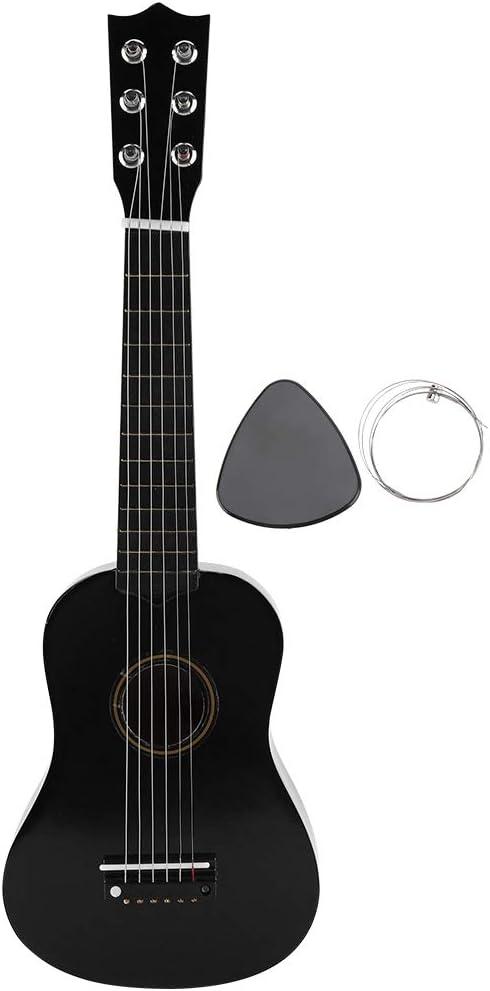 Guitarra Clásica Acústica 4/4 Para Principiantes,41 Pulgadas de Cuerdas de Nylon, Kit de funda,color negro
