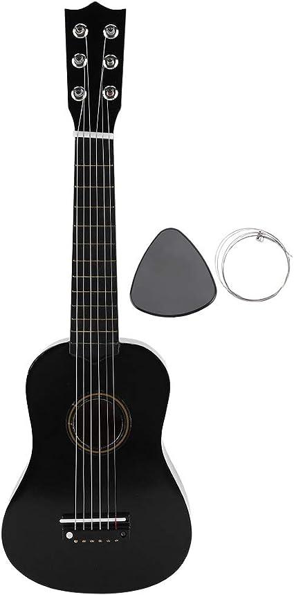 Guitarra acústica infantil (tamaño 21pulgadas, niños de 8 a 12 ...