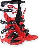 Alpinestars Tech-5 Boots (12) (RED/WHITE/BLACK)