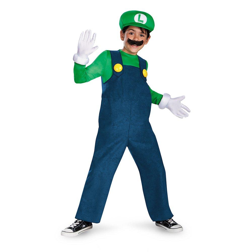 Boy's Nintendo's Super Mario Brothers Luigi Deluxe