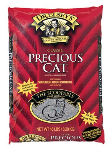 Precious Cat Classic Premium Clumping Cat Litter-New Value Pack Size 80 Pounds Precious-c7