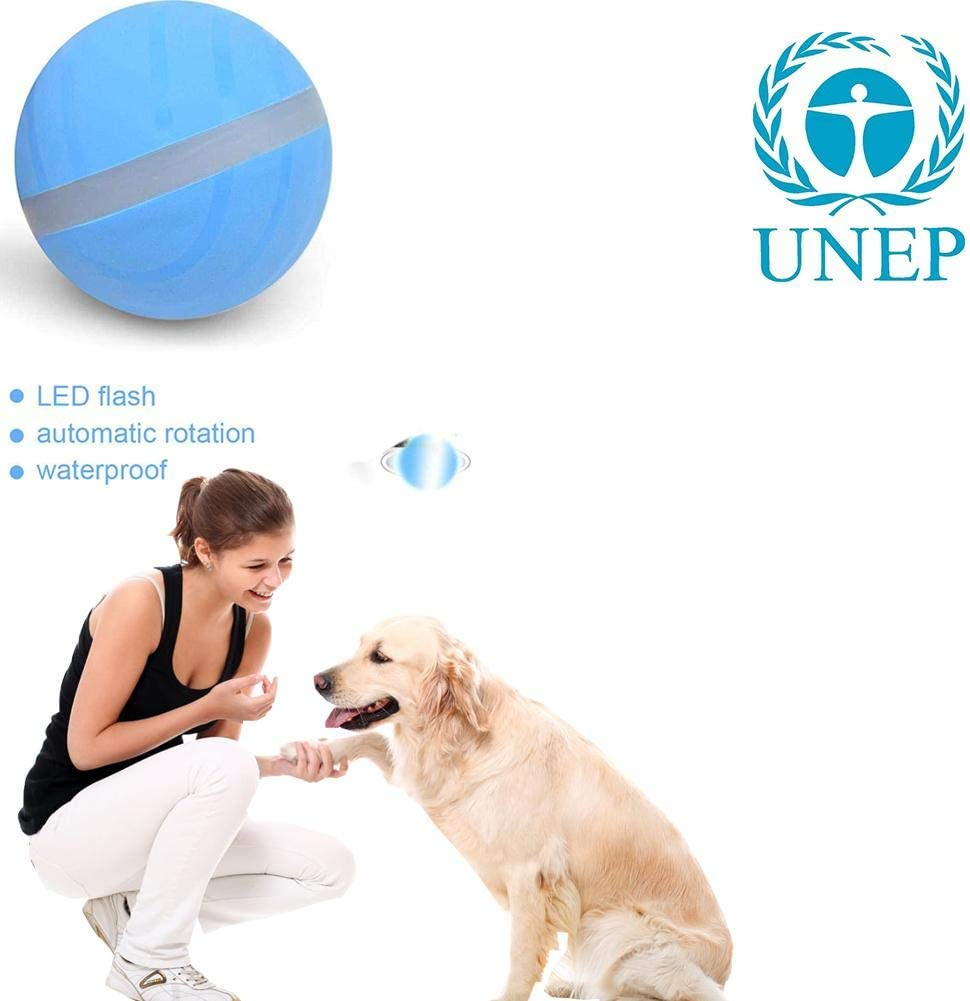 Chengstore Bola De Salto para Perros, Juguete para Mascotas Bola ...