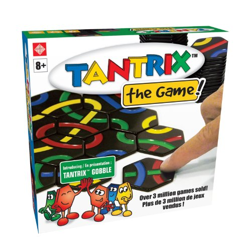 Family Games Tantrix Gobble Tile Puzzle Strategy Board Game by Family Games