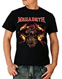 Megadeth Symphony of Destruction Thrash Metal T-Shirt Large Black