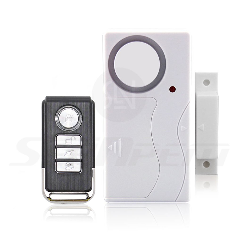 Xemz - Latest Security Safeguard Remote Control Alarm System - DIY Wireless All-In-One Personal Anti-theft Window & Door Magnetic Sensor - For ...