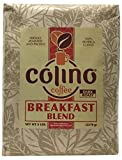 Fresh Premium Gourmet Breakfast Signature Blend Artisan Ground Coffee, Dark Roast Bag, Colino Coffee. (5 Pound) Review