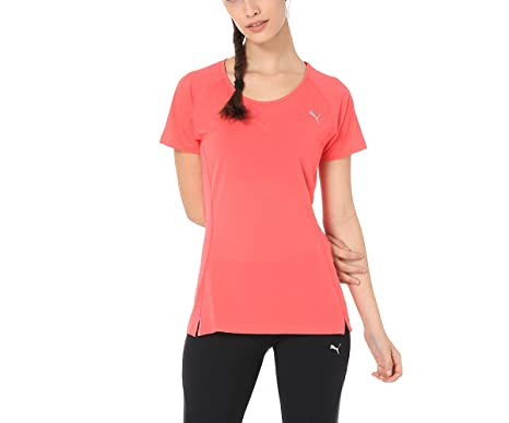 75a631874b Core-Run S S Tee W Paradise Pink: Amazon.in: Clothing & Accessories