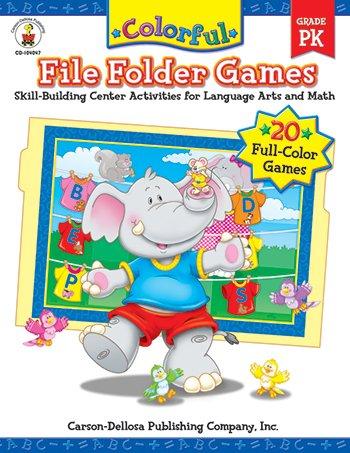 Colorful File Folder Games PreK ()